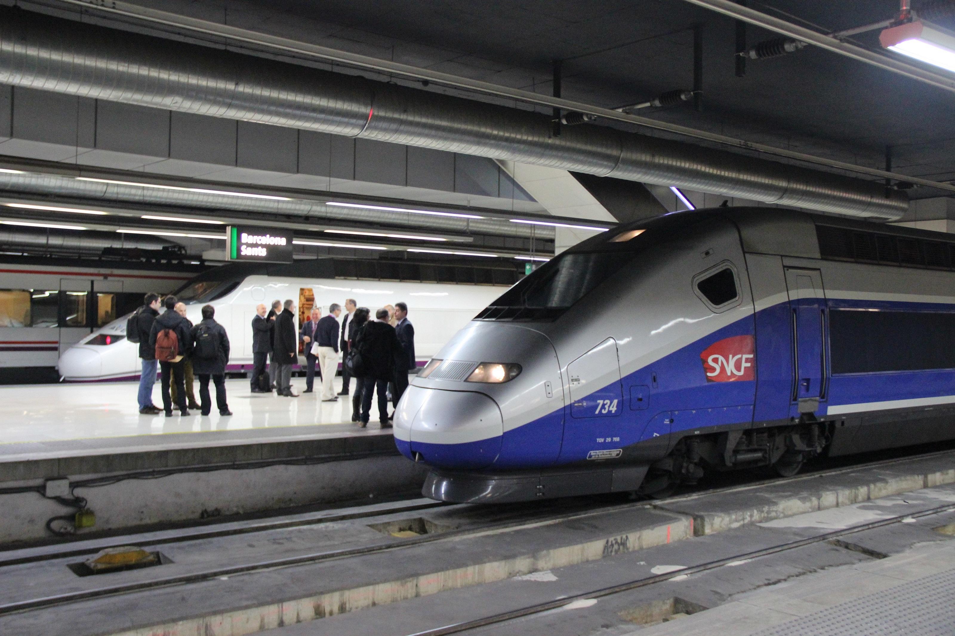 La alta velocidad entre barcelona y francia ya es una for Distancia barcelona paris