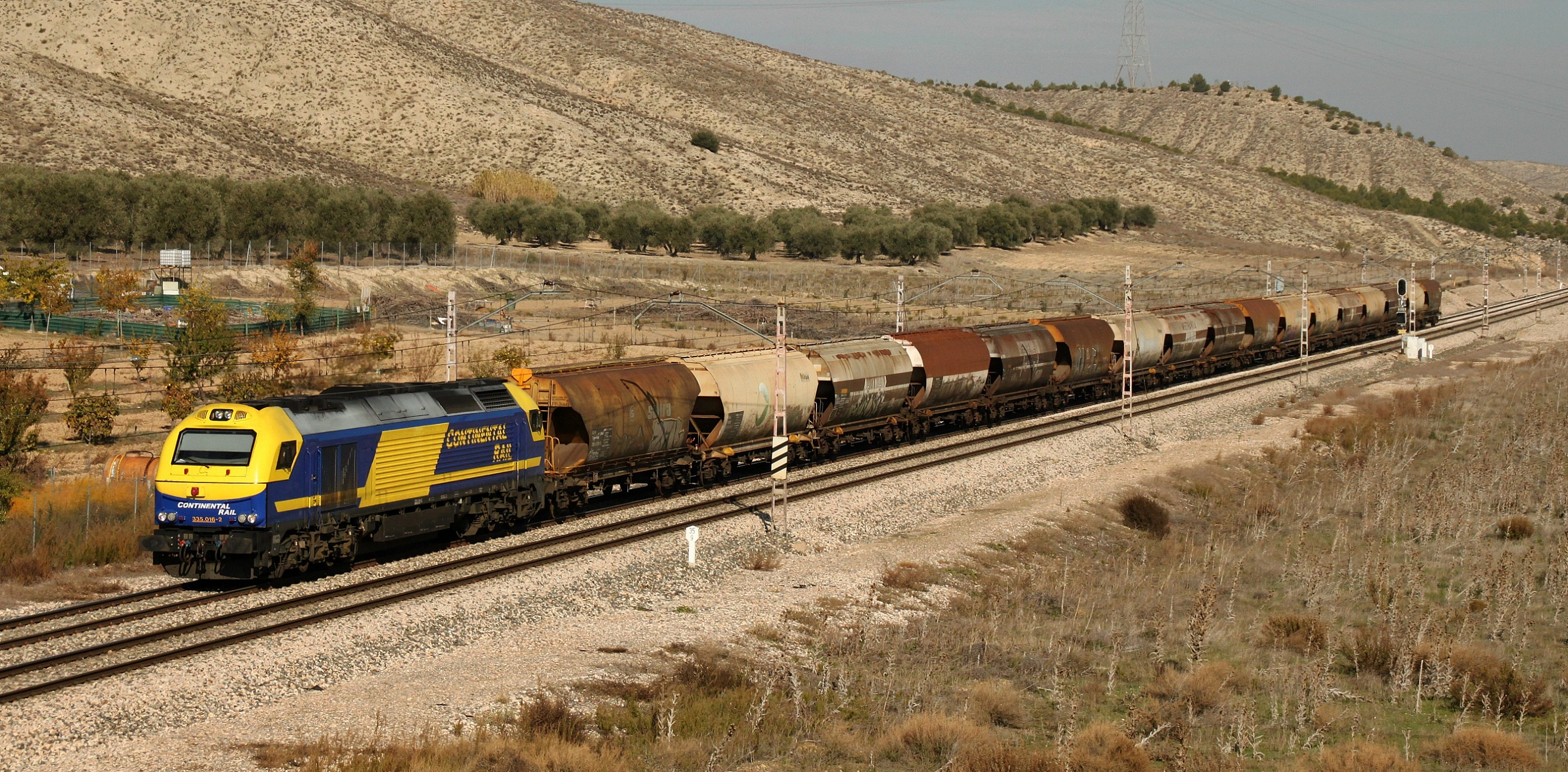 Fotos de trenes de carga 81