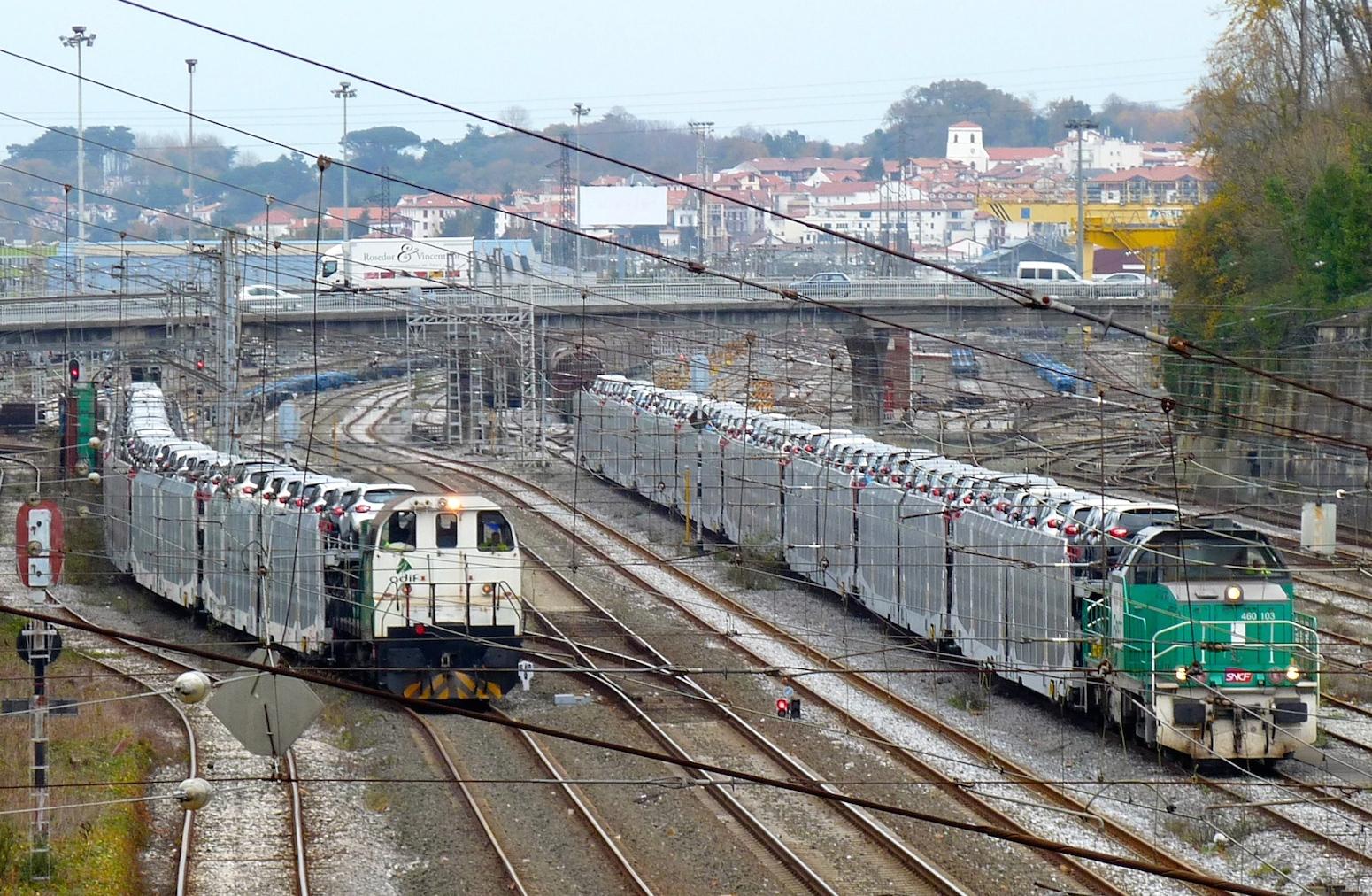 Nuevo servicio de transporte de automóviles para Renfe