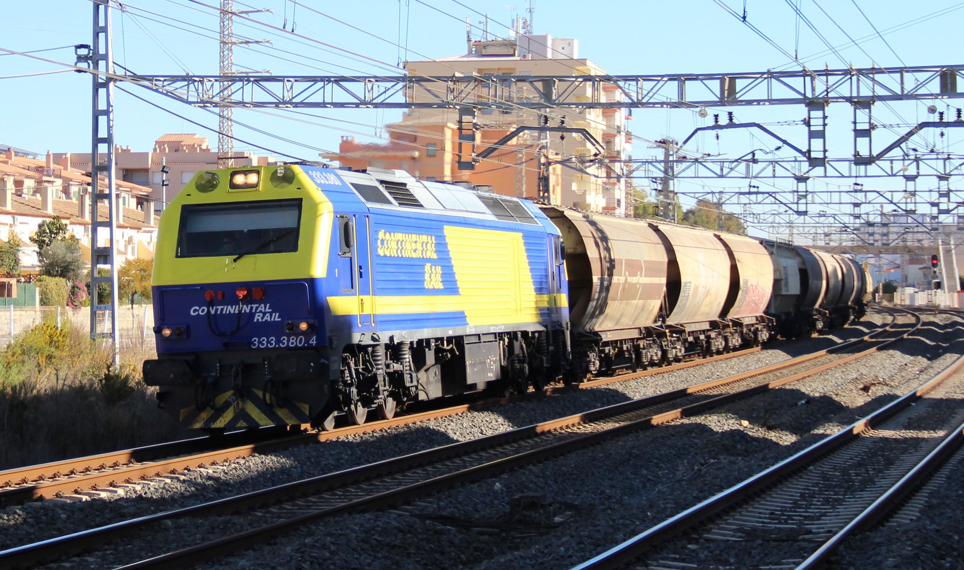 Renfe estrena con Continental Rail su división de alquiler de trenes con un contrato de 3 millones