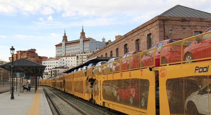 La línea de Teruel aumenta su actividad con nuevos tráficos