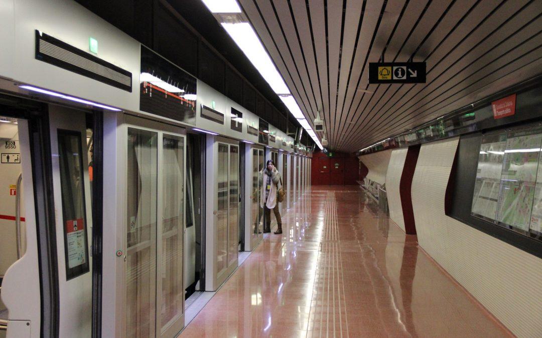 La L9 Sur del metro de Barcelona alcanza los 47.000 viajeros diarios en tres meses