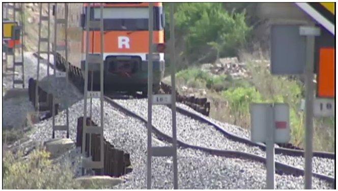La línea R12 estará cortada entre Cervera y Tárrega por obras durante el verano
