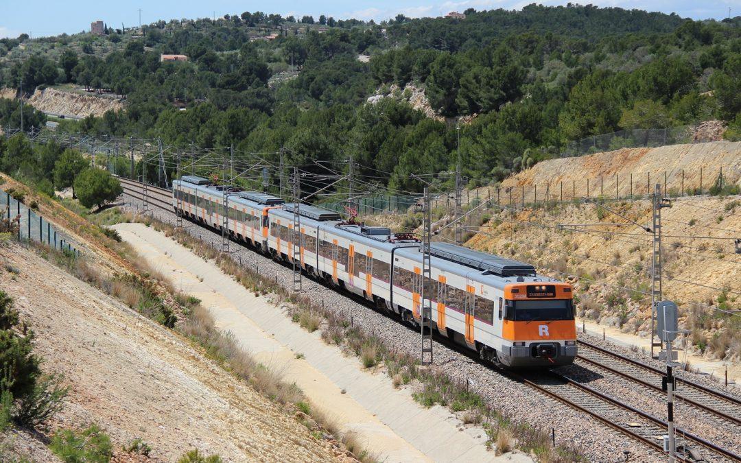 Una avería del sistema de electrificación provoca retrasos en el Corredor Mediterráneo
