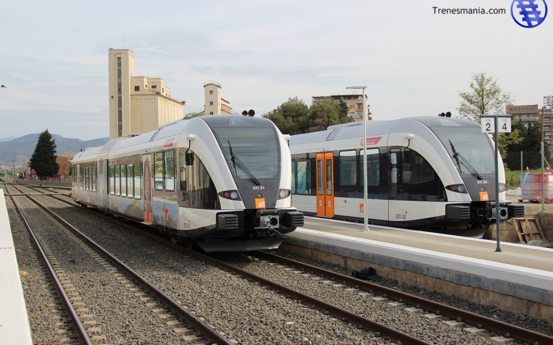 Los nuevos trenes de la línea Lleida – La Pobla entrarán el servicio el 25 de julio