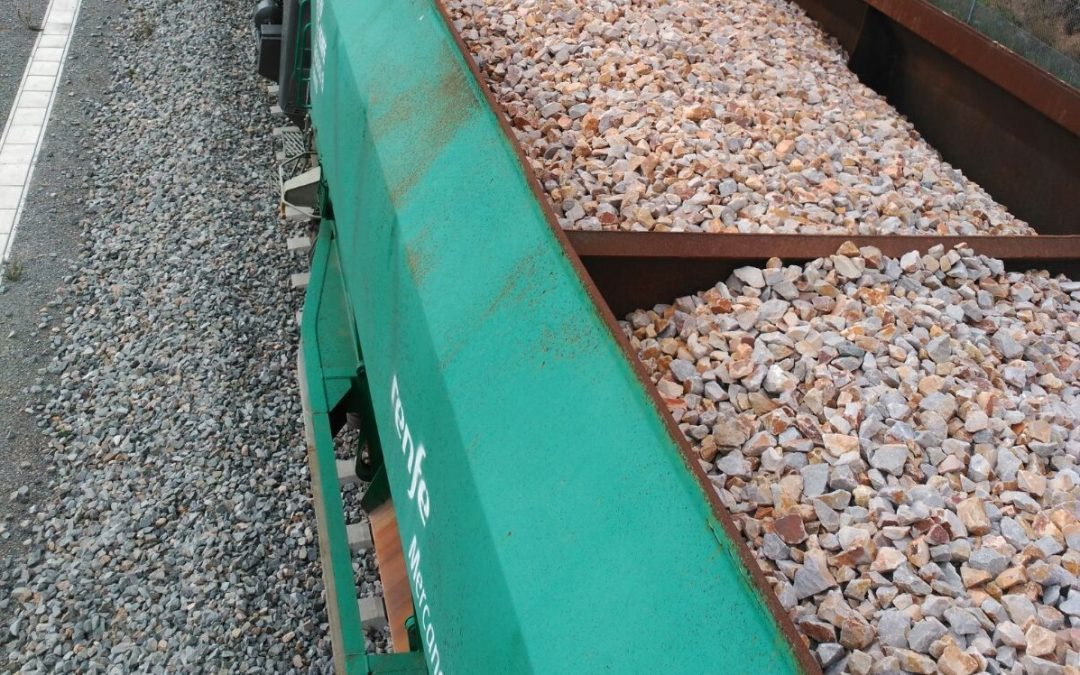 Obras de mejora de la infraestructura entre Móra la Nova y Flix