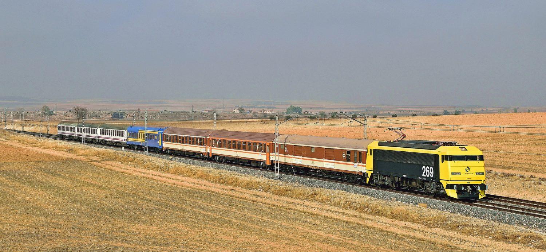 Viaje en el Tren de los 80 de Madrid a Zaragoza el 1 de octubre
