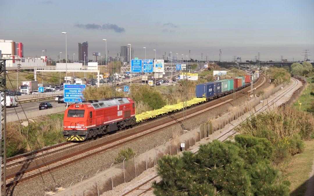 Balance del transporte de mercancías por ferrocarril del año 2016