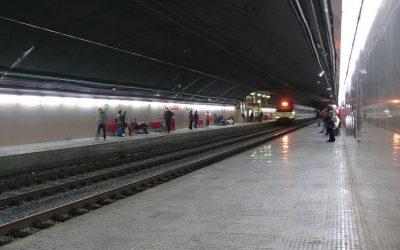 Renfe acomete obras de mejora en la estación de Sabadell Centre