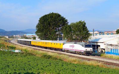Salida del Tren Azul «Expreso del Urola» al Museo Vasco del Ferrocarril