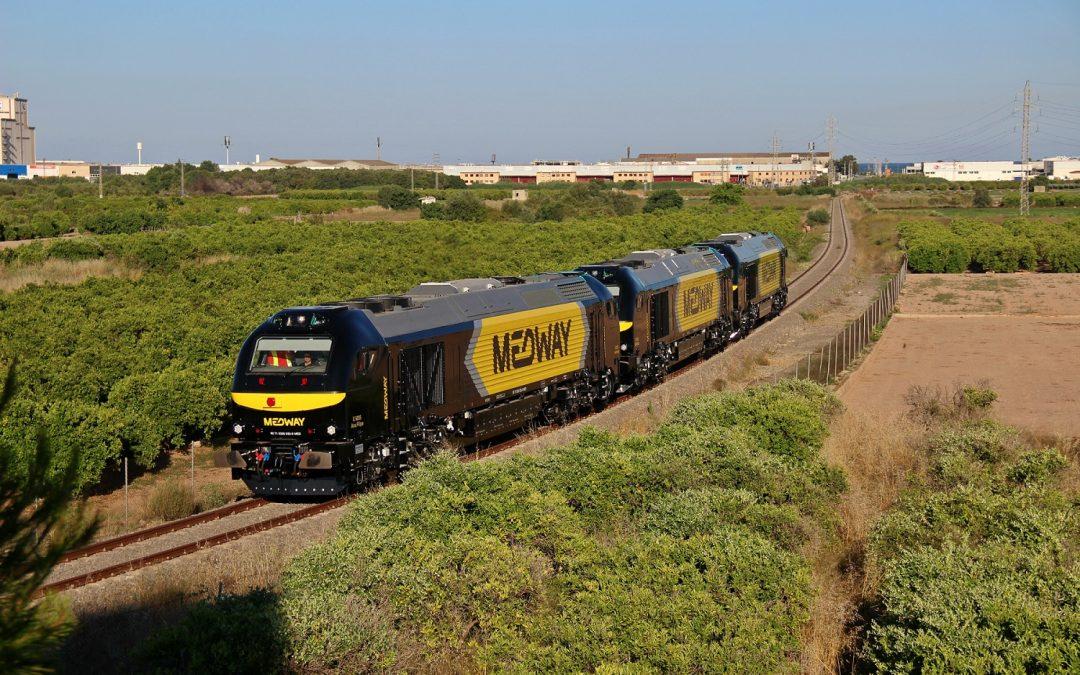 Entregadas las nuevas locomotoras Euro4000 para Medway