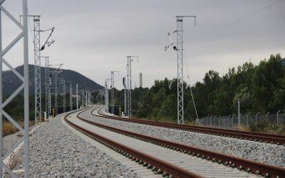 El tramo Tarragona-Vandellòs, en pruebas a partir de enero de 2018