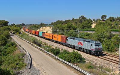 El tráfico de mercancías por la línea de Teruel sigue en auge