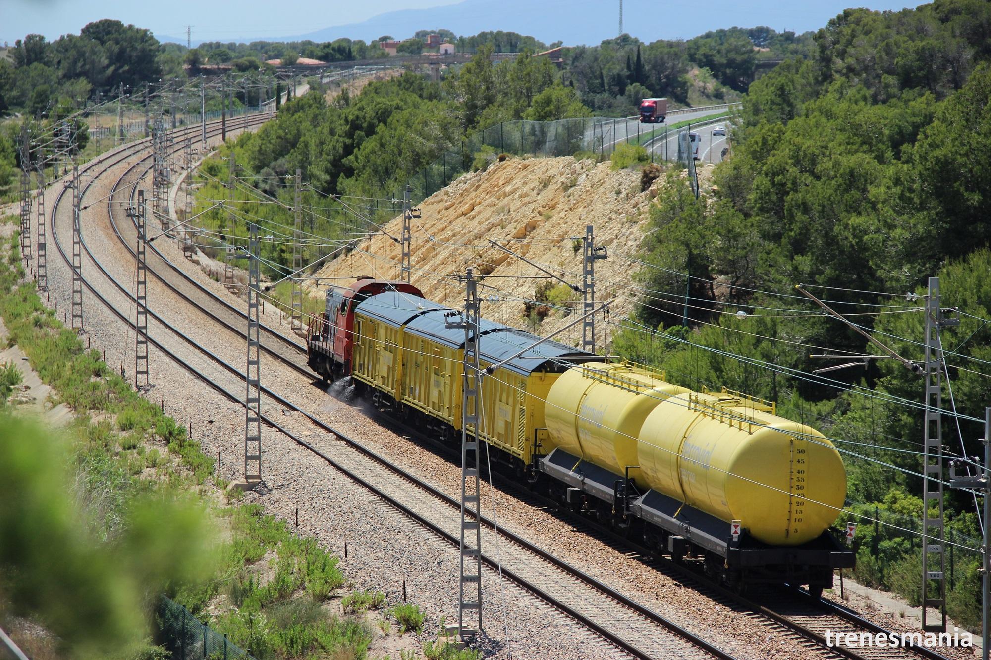 tren herbicida ferrovial