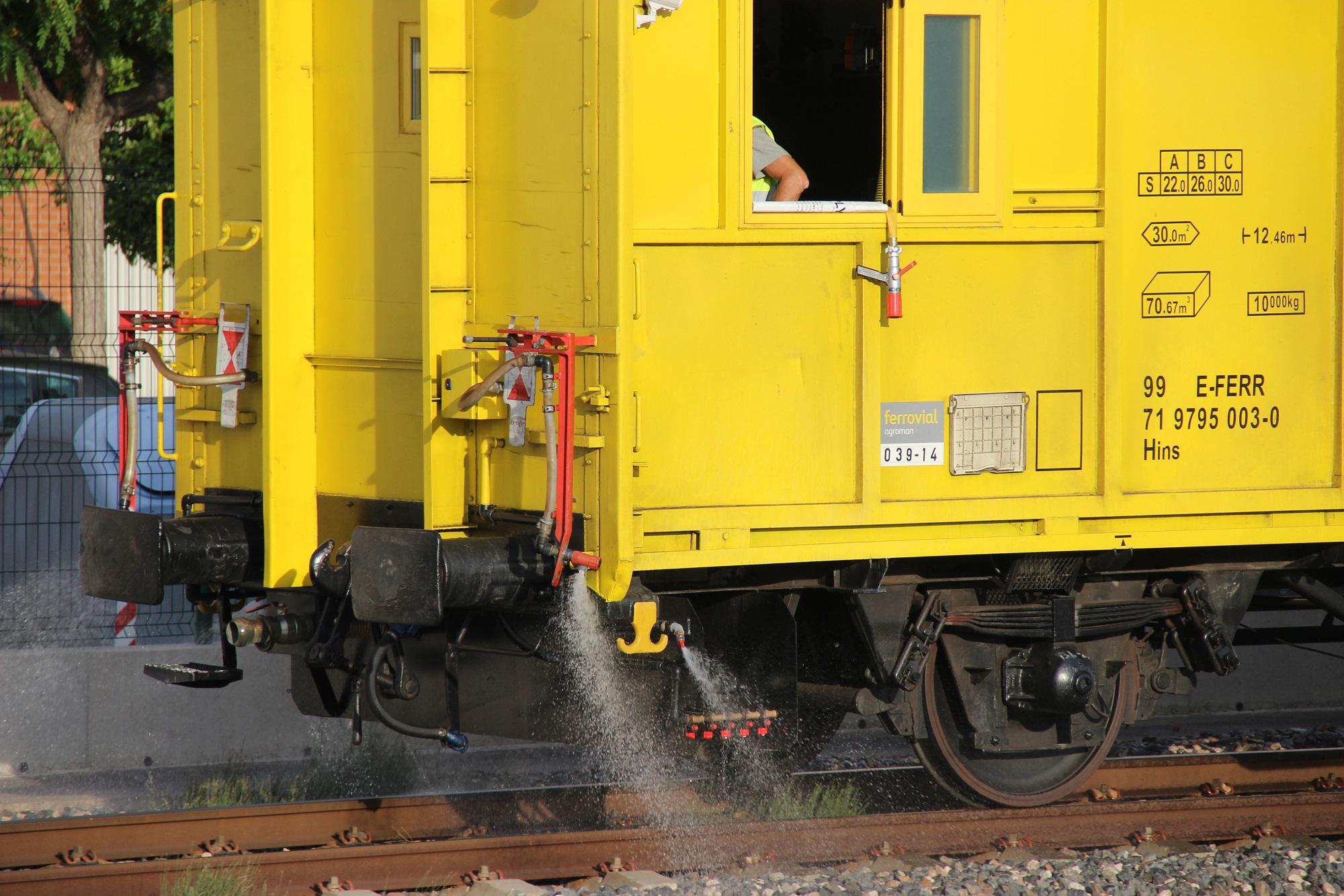 tren herbicida adif