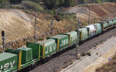 Miranda de Ebro estrena la nueva terminal de contenedores