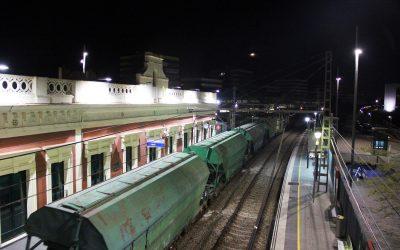 El túnel de Gornal acoge las primeras pruebas para desviar trenes de mercancías