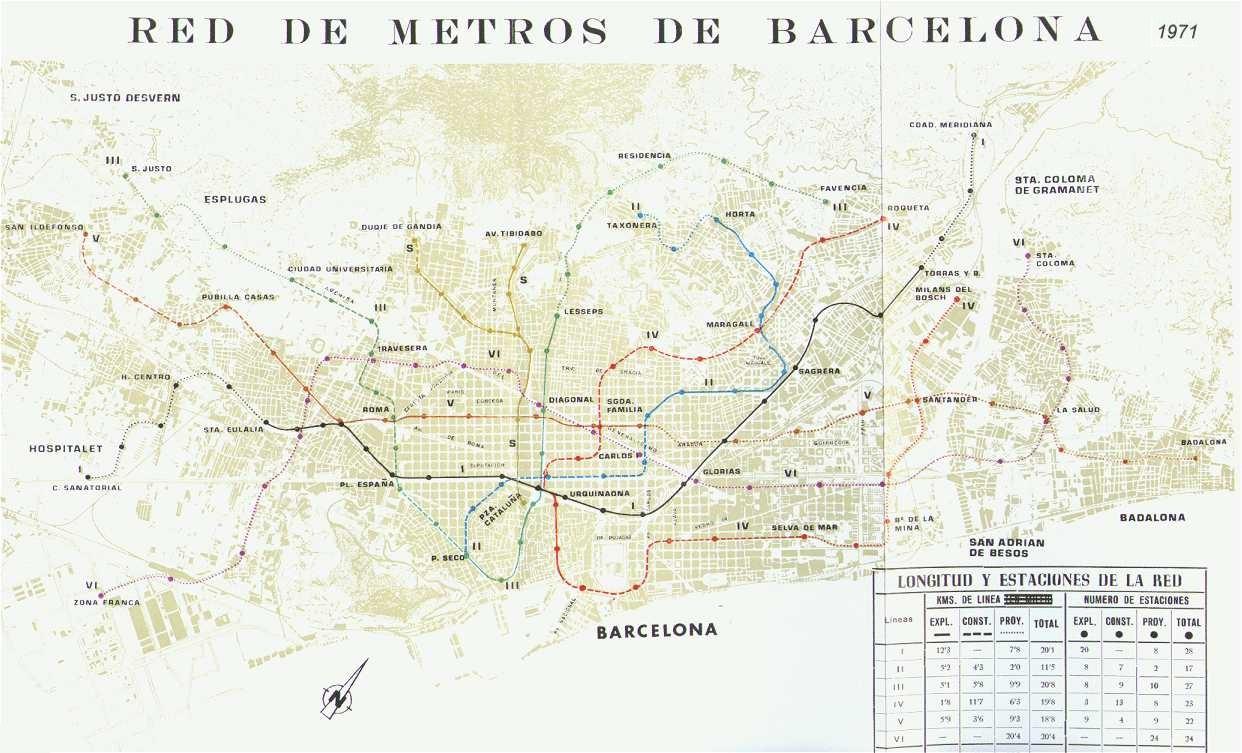 Plan de Metros 1971