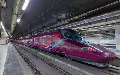El tren Avlo de Renfe realiza su primer viaje comercial